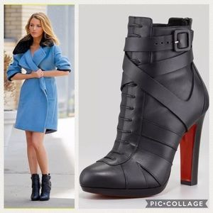 97f29f1d7613 Christian Louboutin Shoes - 35.5 US 5-5.5 Lamu 120 Leather Ankle Boot  Booties